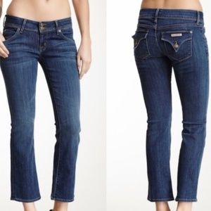 Hudson Beth Baby Boot Crop Jeans